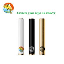 Custom logo packaging cart battery pen 3.5V 510 Thread Battery S5 buttonless 12.2mm 530mah vape battery
