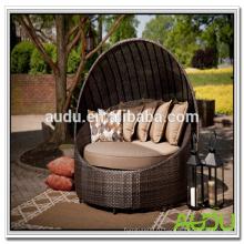 Audu Chaise Lounge с навесом, большой шезлонг со всей подушкой