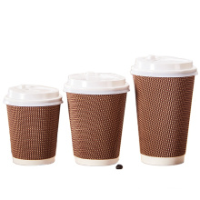 Good quality high speed disposable custom printing hot sale drink beverage cups with lids