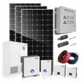 sistema de energía solar 10000w en red