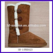 SR-14WM0023 2014 winter durable snow boots winter cheap fashion women snow boot newest warm women snow boot