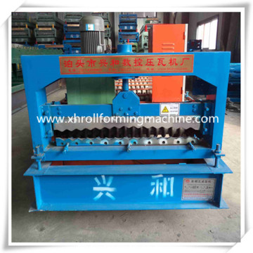 High Rib Steel Metal Corrugated Sheet Roll Forming Machine
