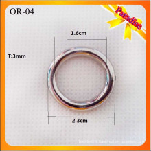 OR04 Wholesale handbag O fitting and accessories,small d rings