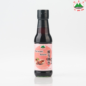 Salsa Teriyaki Botella de vidrio 150ml
