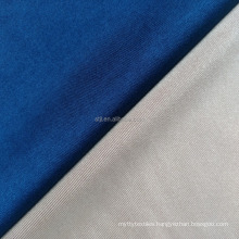 Cheap price tricot 170-220gsm active wear shine 90 polyester 10 spandex fabric