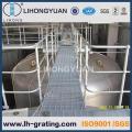 Rejilla de acero galvanizado para proyecto planta ISO9001