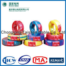 Electric wire CU/PVC