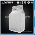 Заводская цена стоять мешок плоская нижняя алюминиевая фольга выложены крафт-бумажный мешок с окном