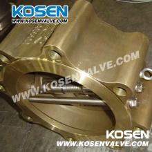 Elenco Bronze Wafer Válvula Dual Plate (H76)