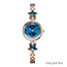 KIMIO Ladies Wristwatches Girls Bracelet Watches Quartz Watch Crystal Starts Exquisite Watch Stainless Steel Reloj de mujer