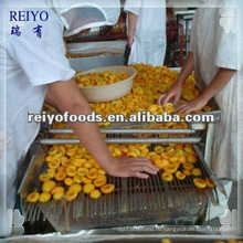 Консервированные половинки абрикоса в легком сиропе