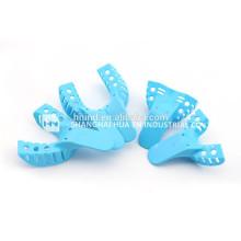 Plastikabdruckschalen Einweg-Edelstahl-Dentalabdruckschalen