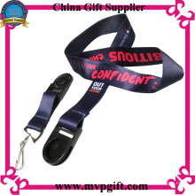 Heat-Transfer Print Lanyard with Changeable Clips