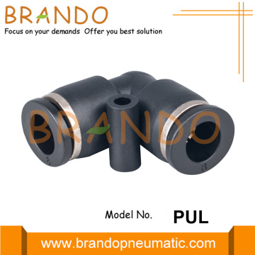 "1/4 ""1/2"" PUL Union Elbow Pneumatic Hose Fittings"