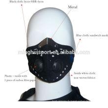 Masque d'entraînement de sport de motocross en plein air de masque facial de haute qualité