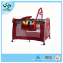 Colorful Aluminum Baby Playpen with High Mosquito Net (SH-A3)