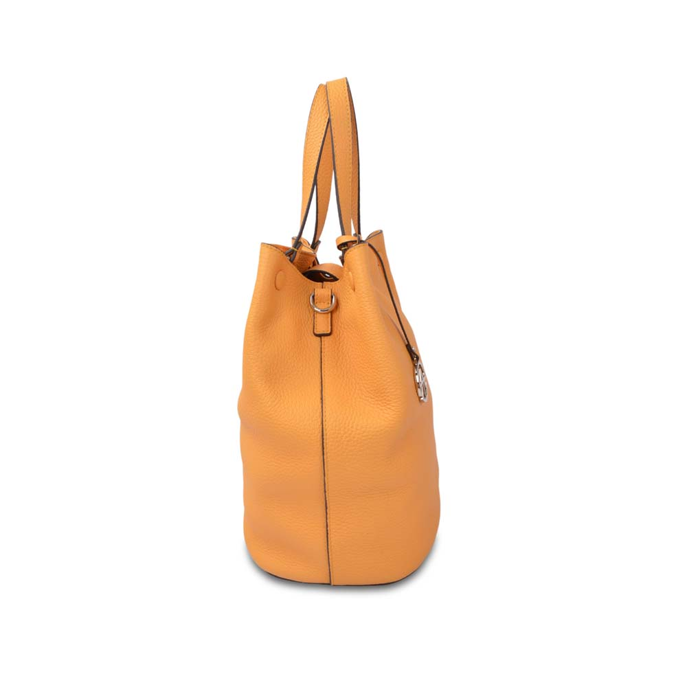 High quality women genuine leather bucket bags