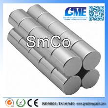 "D1 / 4 ""X1 / 4"" SmCo Samarium Kobalt Magnet"