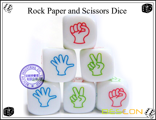Rock Paper and Scissors Dice-2