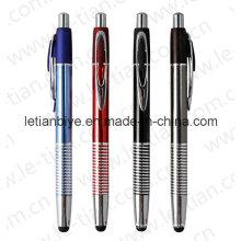 Caneta Stylus de alumínio novo design (LT-C458)