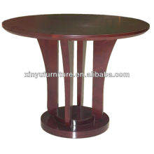 Modern solid wood curved coffee table XY0868