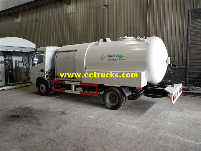 150hp LPG Dispensing Tanker Trucks