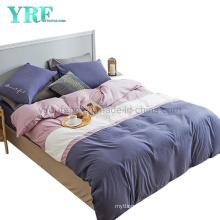Hot Selling Hotel Apartment Solid Color New Product Polyester Fabric Bed Sheet