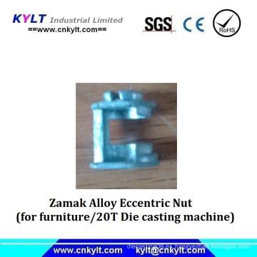 Zinc Alloy Metal Eccentric Nut for Furniture