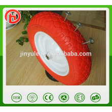 14 x 3.50-8 pu foma wheel ,solid wheel use for Beach cars, carts, sand boat