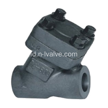Forged Steel Y Type Lift Check Valve