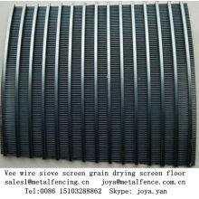 Easy washing vee wire sieve screen grain drying screen floor
