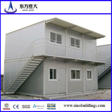 House Container Sandwich Panel/Flat Pack Container/2 Storeys Prefab Container
