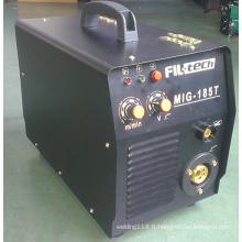 MIG IGBT Machine à souder avec cycle élevé (MIG-185T)