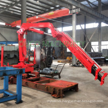 5 Ton Telescopic Boom Truck Mounted Crane Knukled Folding Crane Price for Sale