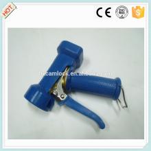 Pistola de lavado resistente de bronce de cubierta azul