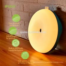 2017 lampe pour les enfants IPUDA nuit lumière de la nuit avec le contrôle dimmable tactile magique