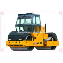 Vibrador competitivo do cilindro dobro, rolo de estrada, maquinaria Yzc7 da compactação