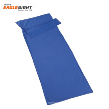 Extra Wide Ultralight Cotton Polyester Sleeping Bag Liner Travel