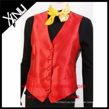Chaleco formal de las mujeres del chaleco del traje formal de la fábrica de China