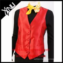 China Professional Factory Formal Suit Vest Women Waistcoat