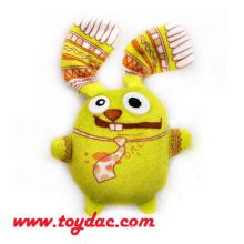 Plush Mini Comic Rabbit Keyring