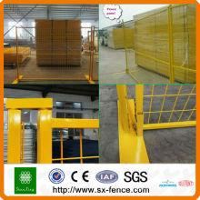 Australia or Canada High standard Galvanized PVC coated Temporary Fence