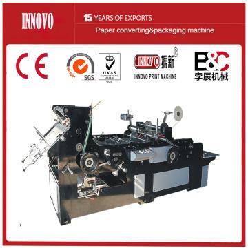 Máquina automática de fabricación de sobres con cinta adhesiva