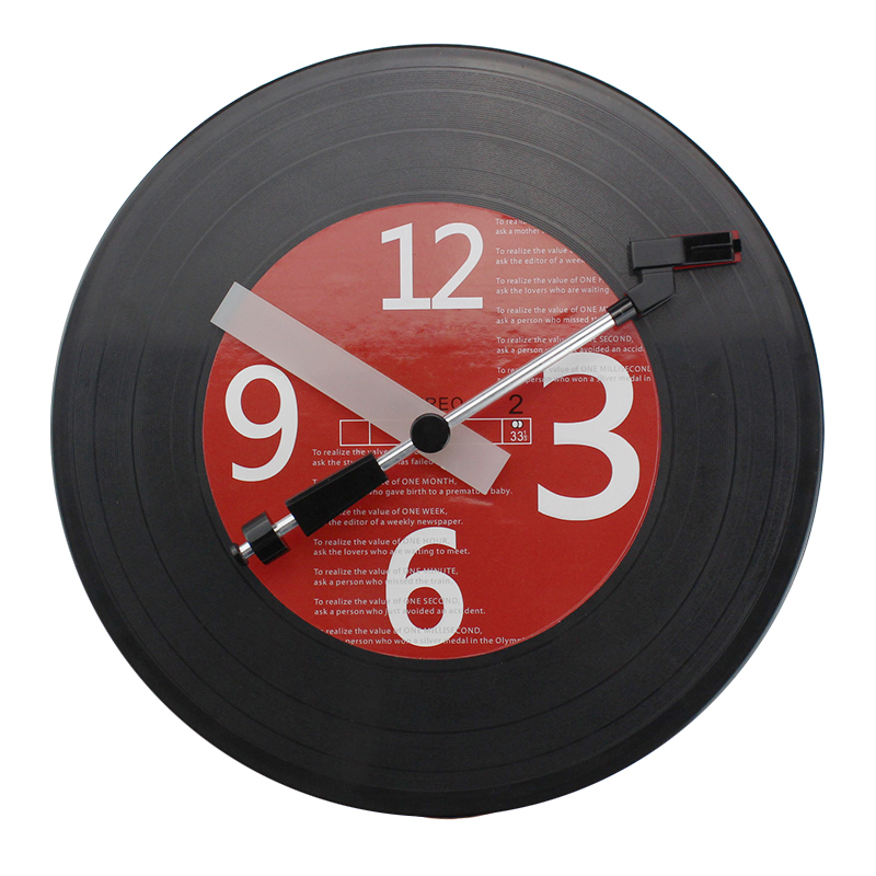 Unmovable Record Digital Clock
