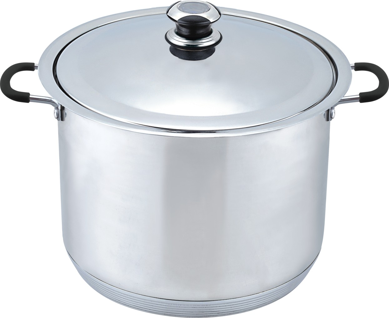 Stainless steel stock pot guide