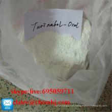 Steroid Powder Oral Turinabol / 4-Chlorodehydromethyl Testosterone CAS 2446-23-2