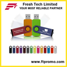 Top-bewertete OEM Werbegeschenk Swivel USB-Flash-Laufwerk (D101)