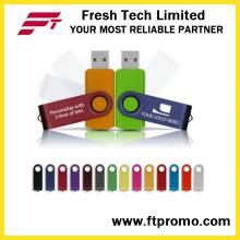 Top-Rated del OEM regalo promocional giratorio USB Flash Drive (D101)