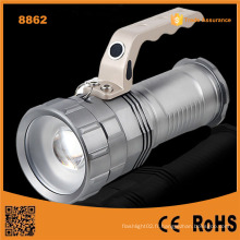 High Power Rechargeable LED Flashlight Long Beam LED Rechargeable Lampe de poche