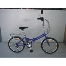 """20"""" сталь 6 скорость складной велосипед (FJ206)"""